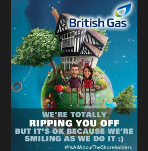 #AskBG British Gas's got bombed on Twitter