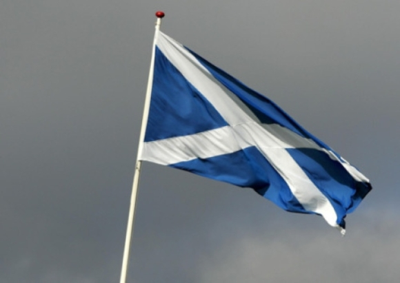 the Saltire - Scotland's beautiful Flag