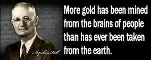 Napoleon Hill, author of Think and Grow Rich