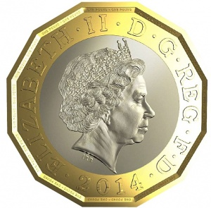 12 sided pound coin